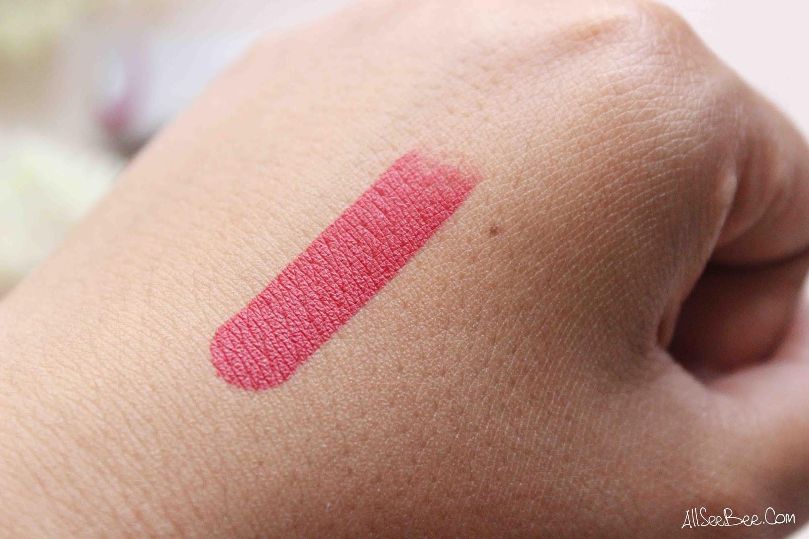 Review Wardah Longlasting Lipstick 08 Red Velvet