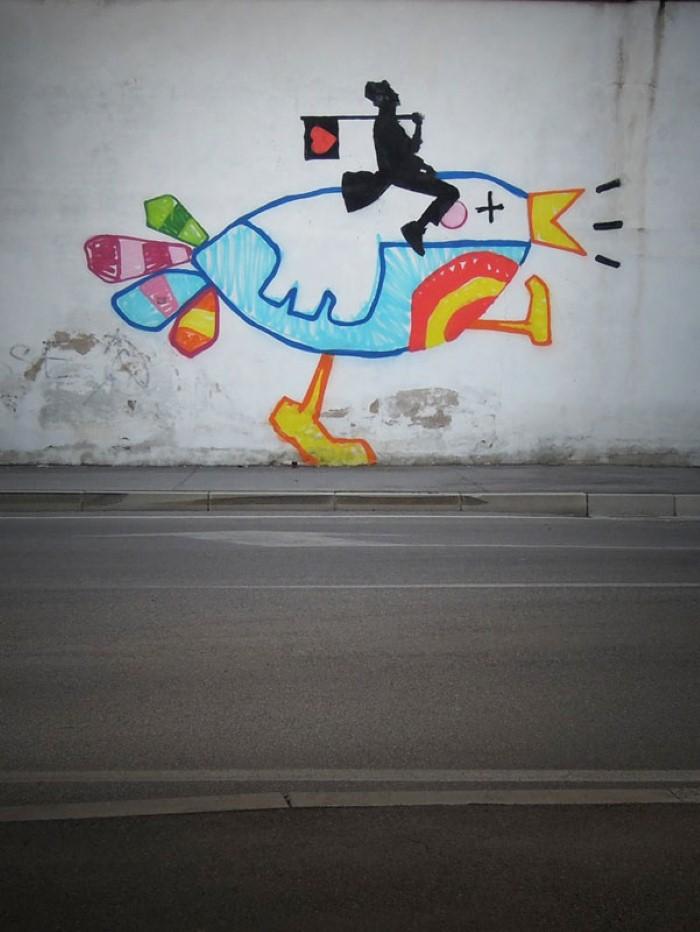 Kenny Random. Итальянский уличный художник 14