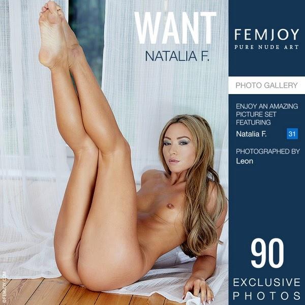 [Femjoy] Natalia F - Want - idols