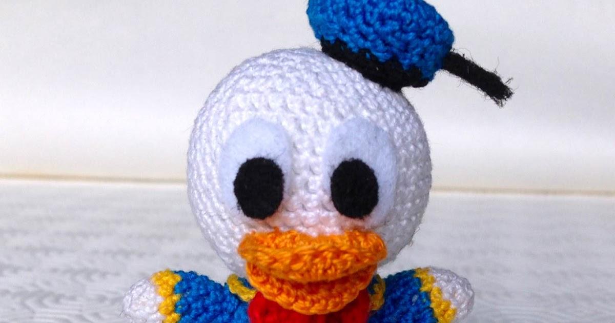 Amigurumi Disney Tutorial : La piccola bottega della Creativit?: Paperino amigurumi ...