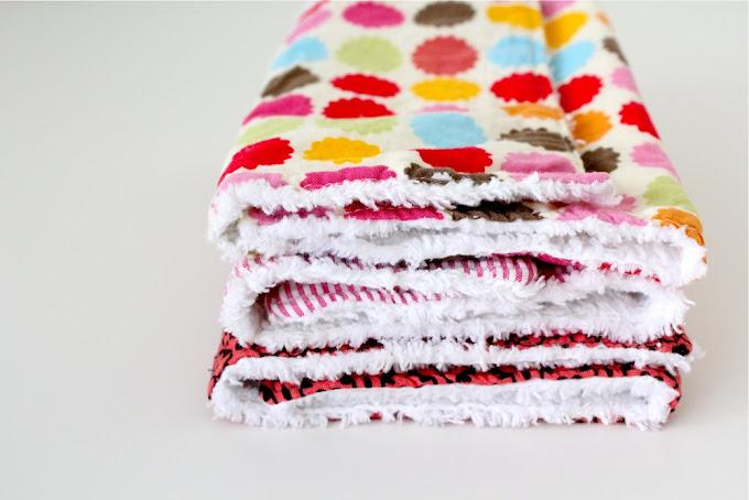 Burp Cloth Gift Sets Made Everyday