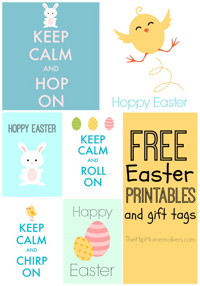 This is a picture of Free Printable Easter Tags in bunny