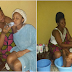 Viral Photos - Mother Baths & Bottle Feeds Her Grown Up Daughter On Her Birthday