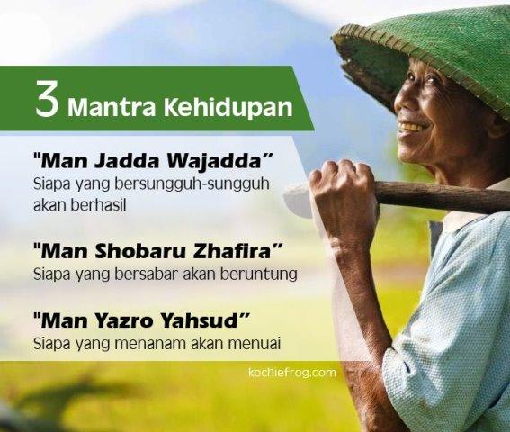 mantra ajaib kehidupan kata motivasi super
