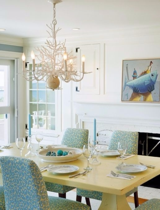 Coral Inspired Chandelier by Currey and Company