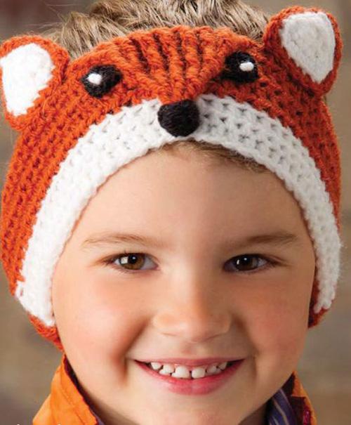 Fox Headband - Free Pattern