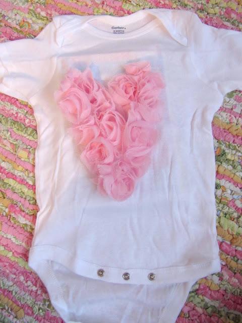 No Sew Ruffle Heart Valentine's Shirt