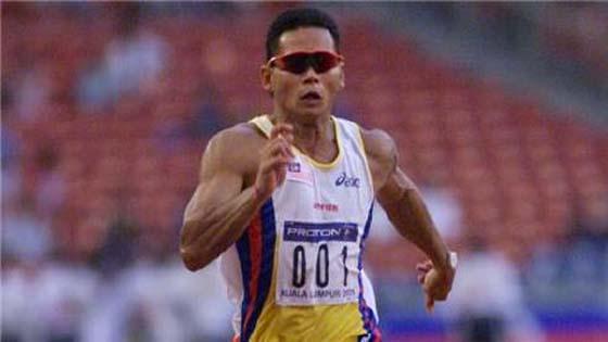 Watson Nyambek masih pegang rekod pelari terpantas Malaysia
