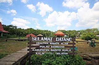 Pulau Kembang Banjarmasin ( Wisata terpendam )