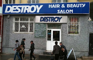 Destroy hair salon