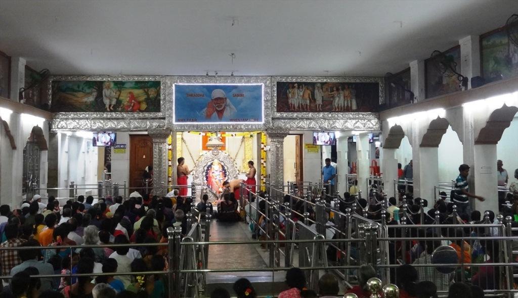 Tamilnadu Tourism Shirdi Sai Baba Temple Mylapore Chennai