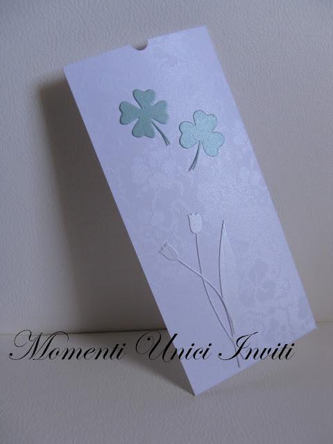 quadri Bustina formato segnalibro... Good LuckColore Bianco Colore Verde