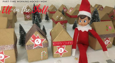 Blog With Friends, a multi-blogger project based post incorporating a theme. December 2017 theme is Celebrate | Fun with Elf on a Shelf by Tamara of Part-Time Working Hockey Mom | Featured on www.BakingInATornado.com