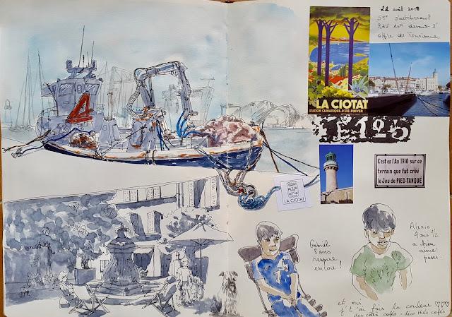 59ème sketchcrawl la Ciotat