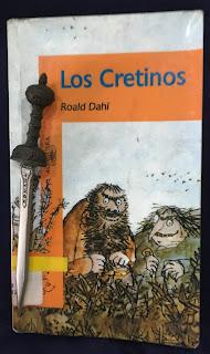 Portada del libro Los Cretinos, de Roald Dahl