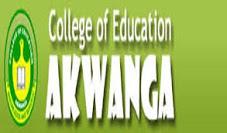 College of Education Akwanga toelatingslijst