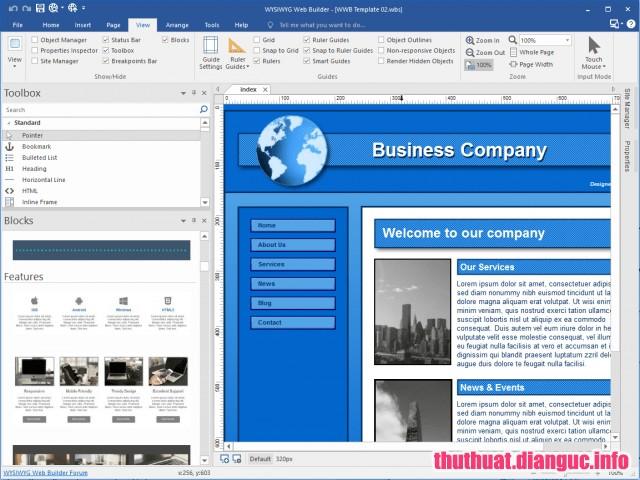 WYSIWYG Web Builder 14.1.1 Full Cr@ck – Phần mềm phát triển website