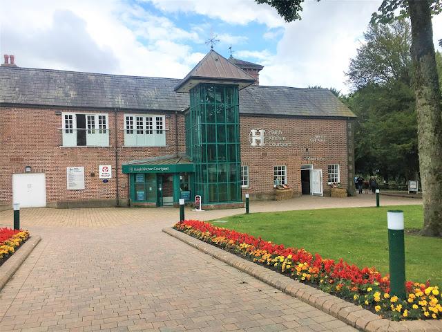 Haigh Hall Courtyard #lbloggers