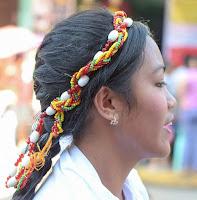 13th Lang-Ay Festival Behind the Scenes Cultural Parade Indigenous Headress