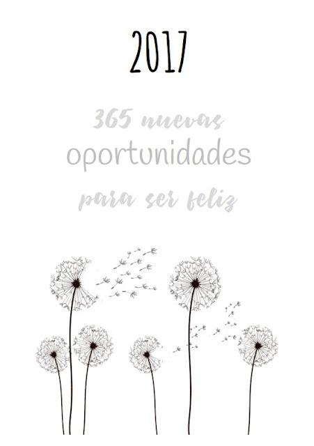 Portada agenda 2017 - Apuntes literarios de Paola C. Álvarez