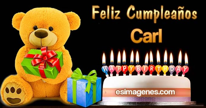 Feliz Cumpleaños Carl
