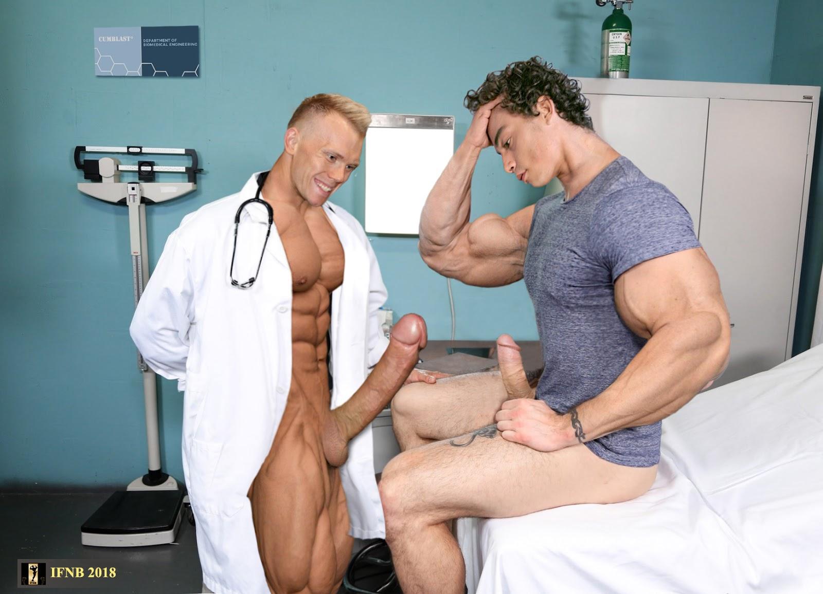 Chris garter naked