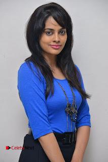 Actress Nandita Swetha Stills in Black Mini Skirt at Ekkadiki Potavu Chinnavada Movie Special Show  0013.JPG