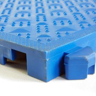 Greatmats Comfort Matta Solid Anti-Fatigue Tile Blue