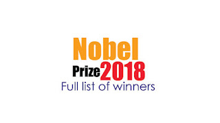 Nobel Prize – 2018 : Full list of winners in bengali