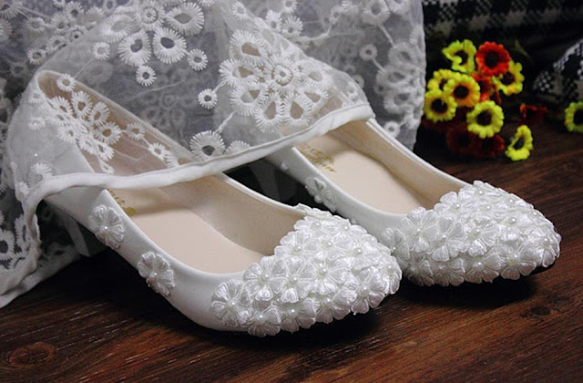 Wedding Shoes Flats For Bride