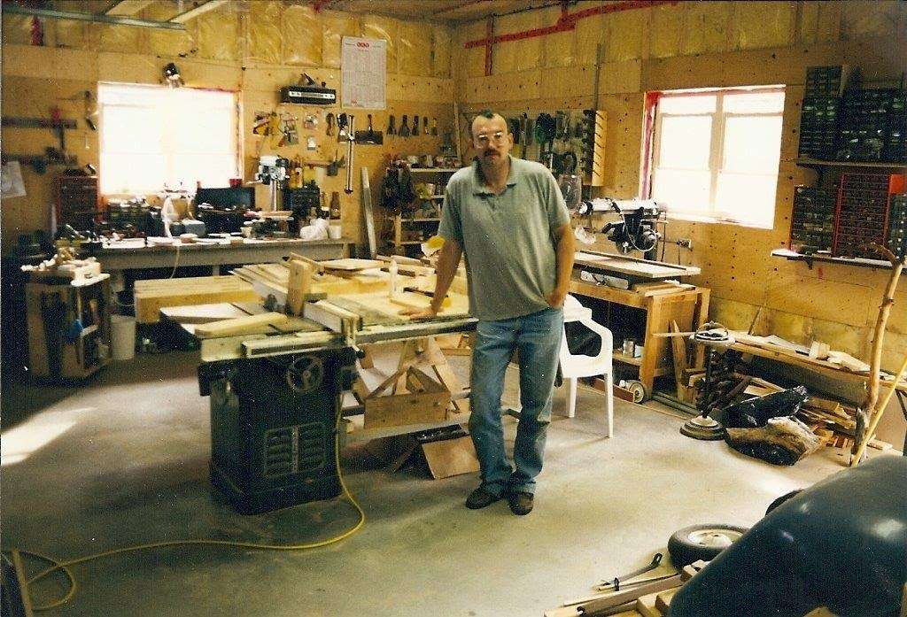 The Valley Woodworker The Power Tools Side Of My Shop