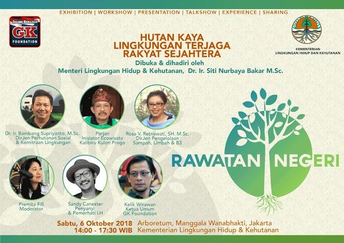 GK Foundation Adakan Acara  Rawatan Negeri -   Hutan Kaya, Lingkungan Terjaga, Rakyat Sejahtera