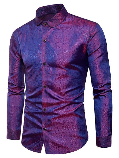 Bright Dot Long Sleeve Shirt