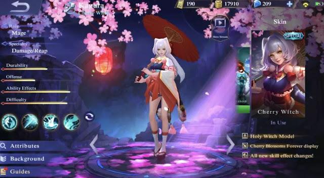 Build Item Gear dan Emblem Set Kagura Terkuat di Mobile Legends