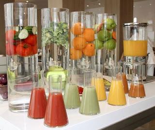 QSN: Desayunar batidos de frutas y verduras, una gran dosis de energía