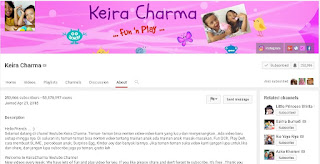 Keira Charma Channel Youtube