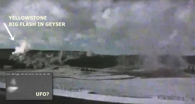 Resultado de imagen de ufo over yellowstone