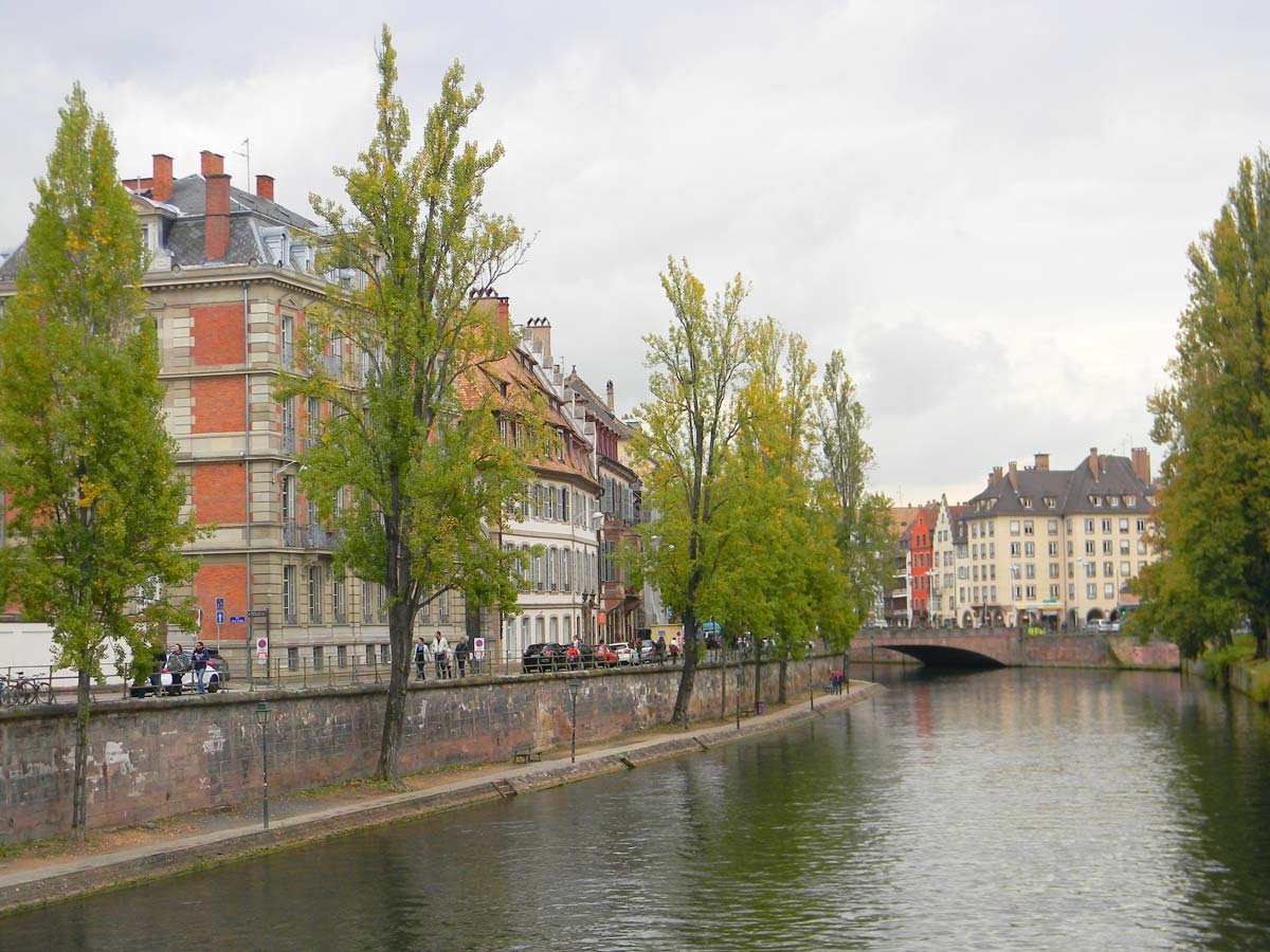 L'Ill, Strasbourg en automne