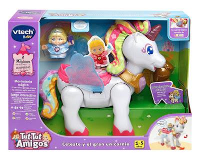 JUGUETES - Tut Tut Amigos Celeste y el gran Unicornio VTECH | Edad: 1-5 años Comprar en Amazon España