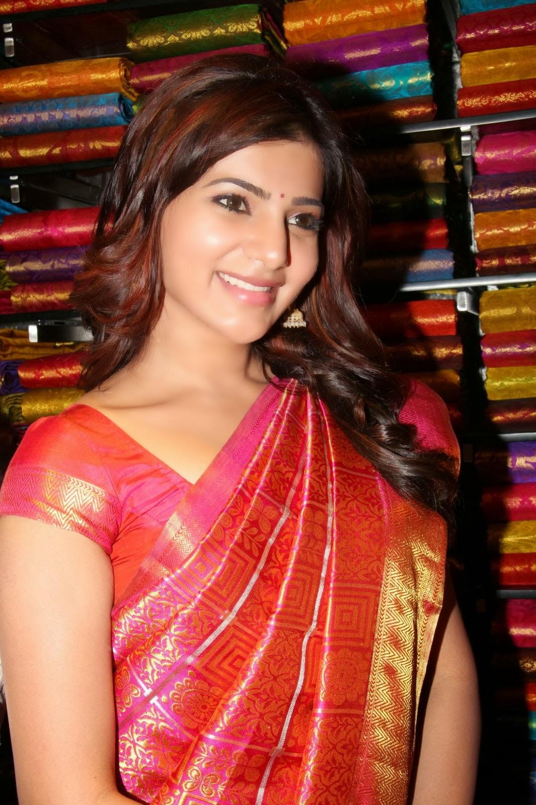 Samantha In Saree: Samantha Latest Pics In Saree