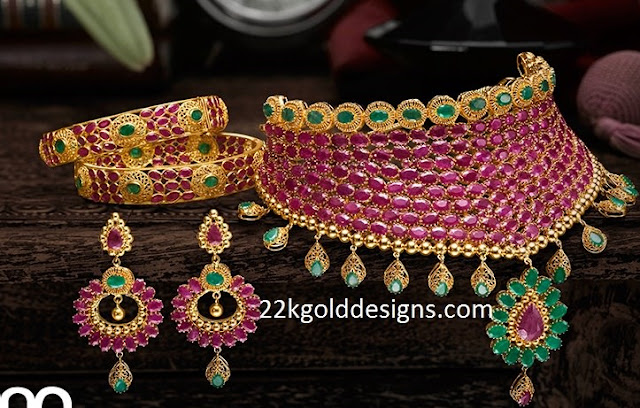 Kalyan Gemstone Jewellery Set