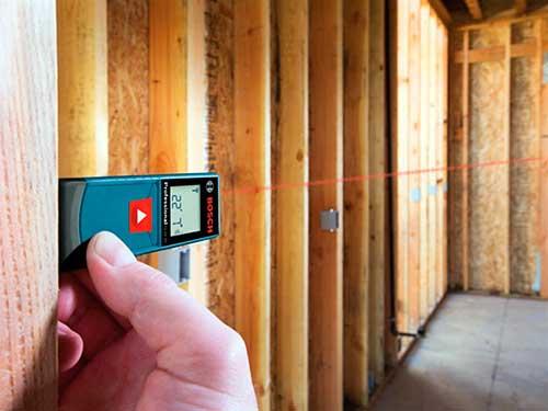 Instalaciones eléctricas residenciales - Telémetro láser