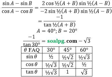 jawaban un matematika sma ipa