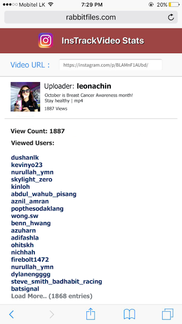 How do l see who viewed my videos on Instagram?