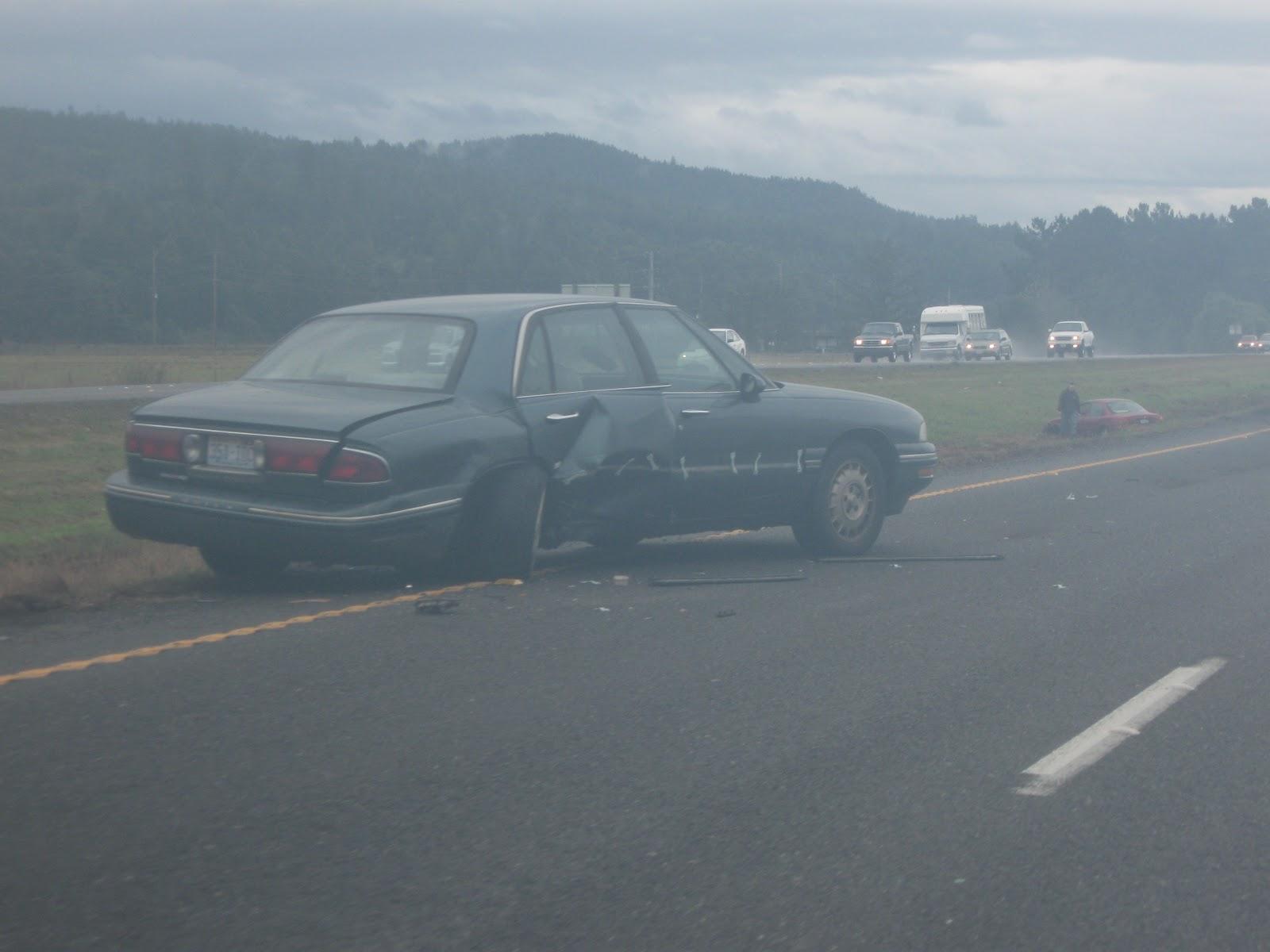 Tom Sebourn Blog: Rain Causes Traffic Accident On US 101