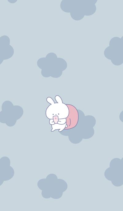 waiting rabbit theme