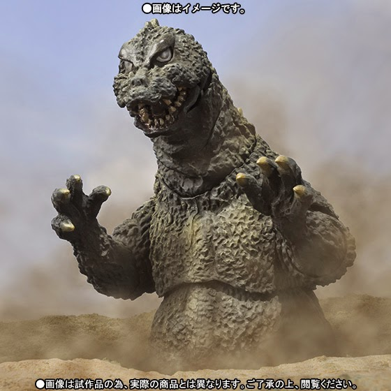 Import Monsters: S.H. Monsterarts - Godzilla 1964 ...