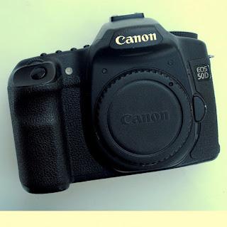 jual kamera dslr bekas canon eos 50d