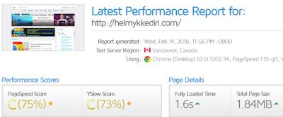 Faktor yang mempengaruhi kecepatan website