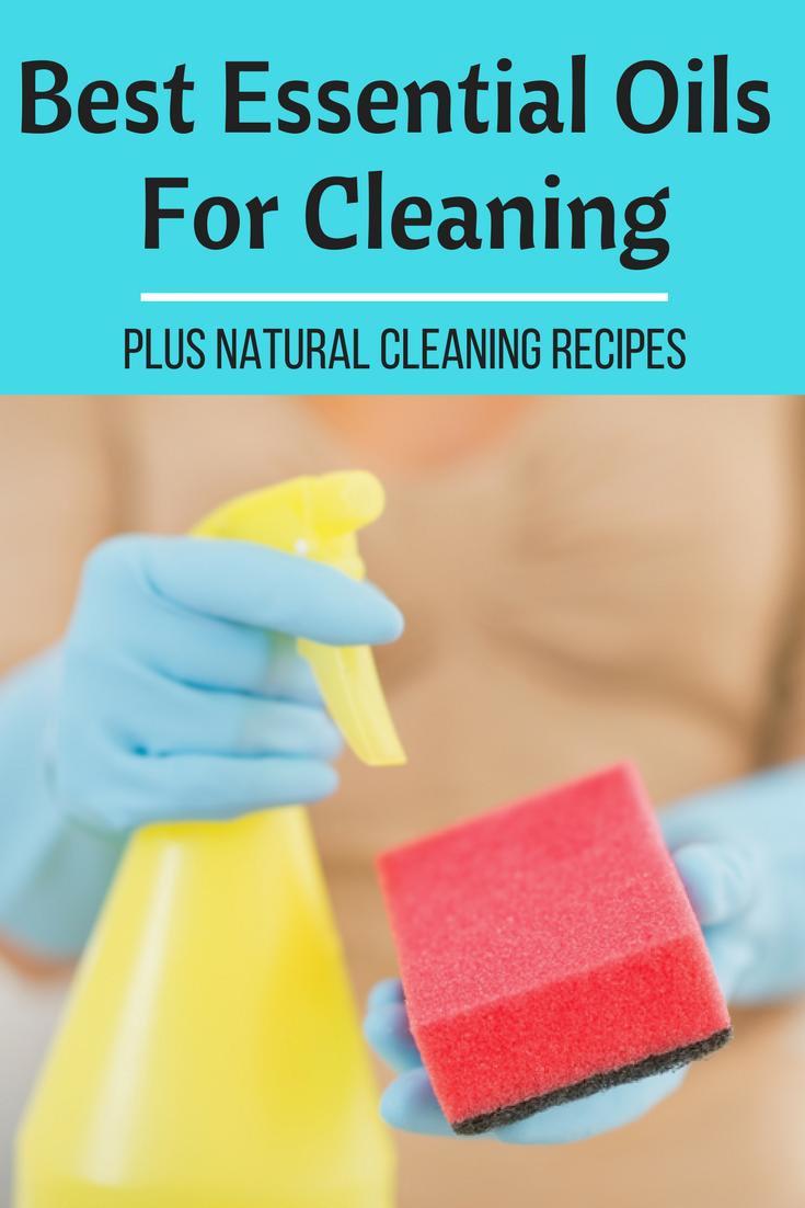 The 10 best essential oils for cleaning + natural cleaning recipes.